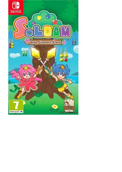 Soldam Drop, Connect, Erase Nintendo Switch