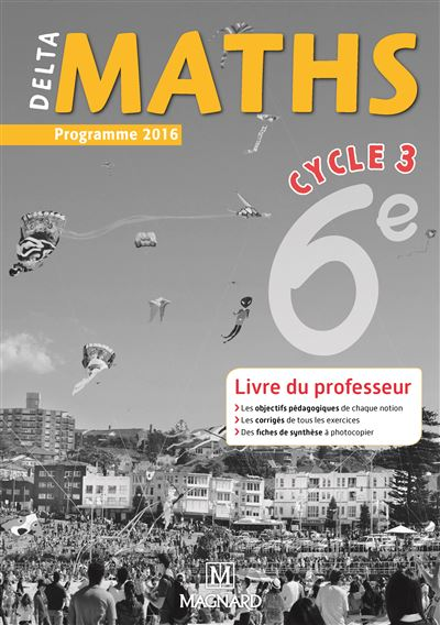 Delta Maths 6ème, Cycle 3, Bimanuel