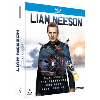Coffret Liam Neeson 4 Films Blu-ray