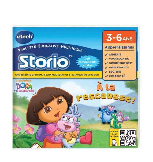 Jeux Storio Vtech Dora