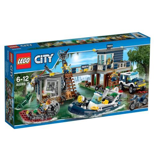 LEGO® City 60069 Le Poste De Police Des Marais