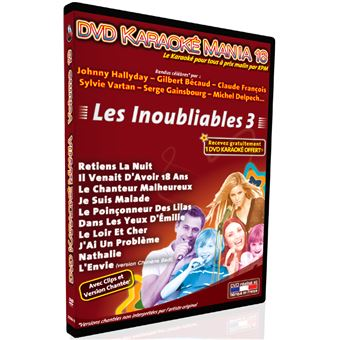 Karaoké Mania Volume 16 Les Inoubliables Volume 3
