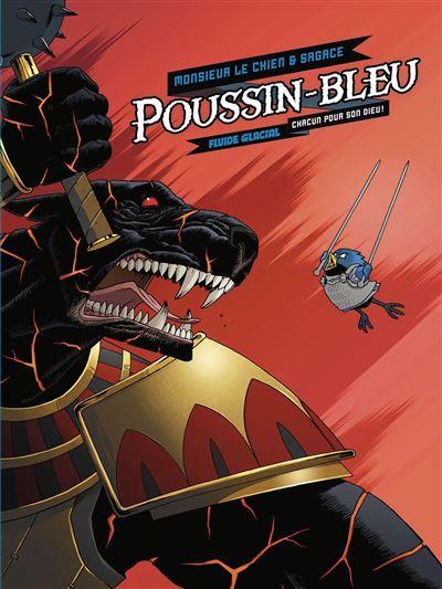 Poussin bleu