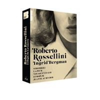 Coffret Roberto Rossellini et Ingrid Bergman Blu-ray