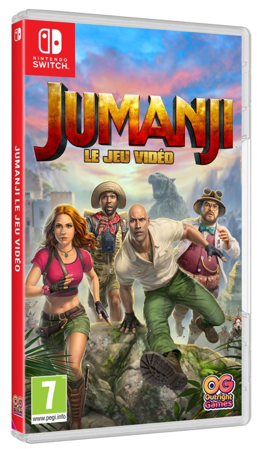Jumanji Le Jeu Vidéo Nintendo Switch