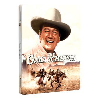 Les Comancheros Boîtier Métal Exclusivité Fnac Blu-ray