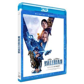 Valérian et LaurelineValérian et la Cité des Mille Planètes Blu-ray 3D + 2D