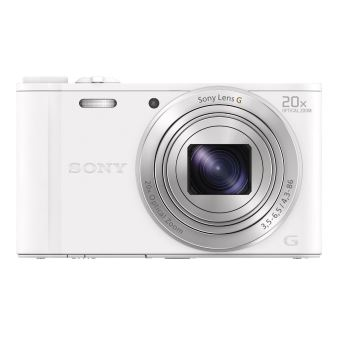Compact Sony DSC-WX350 Blanc
