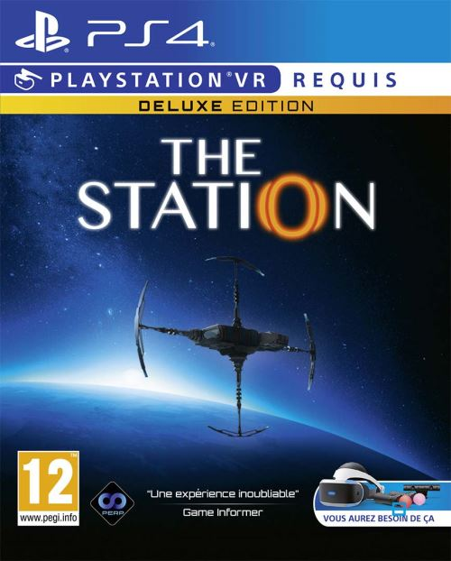 The Station Edition Deluxe PS4 VR