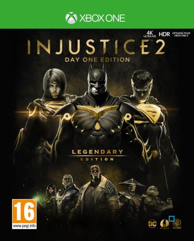 Injustice 2 Legendary Edition Day One Xbox One
