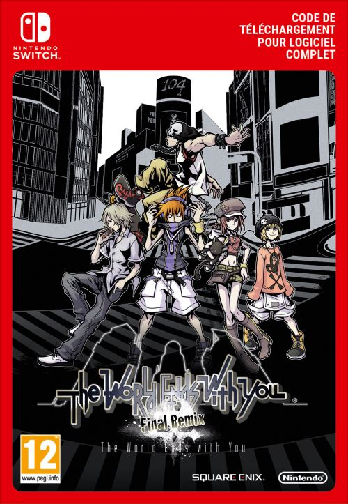 Code de téléchargement The World Ends with You Final Remix Nintendo Switch