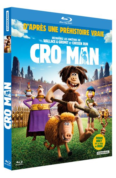 Blu-ray du film CRO-MAN