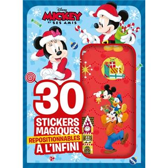 Mickey Top Départ !Mickey top depart mes 30 stickers magiques
