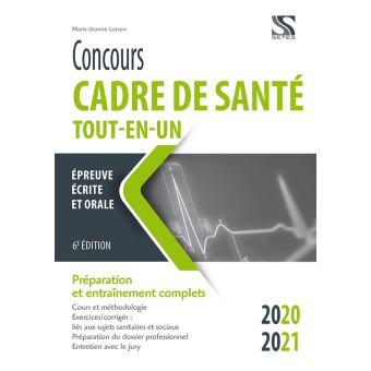 Concours cadre de santé 2020-2021 Tout-en-un