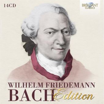 WILHELM FRIEDEMANN BACH ED/14CD