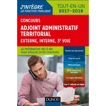 Livre concours adjoint administratif interne