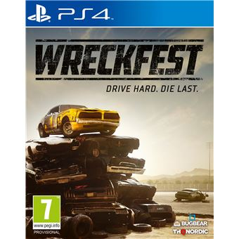 WRECKFEST FR/NL PS4