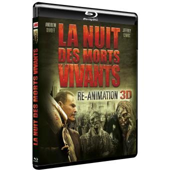 La nuit des morts vivants : Re-Animation Blu-Ray 3D