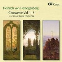Oeuvres chorales Volume 1-3