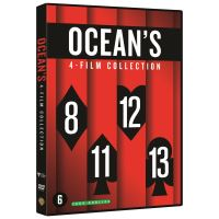 Coffret Ocean's 4 Films DVD