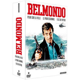 Coffret Jean-Paul Belmondo 3 Films DVD