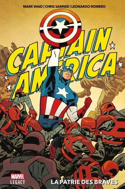 Captain America - La patrie des braves - 9782809483062 - 16,99 €