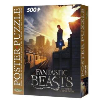 Fantastic Beasts, New york - Poster & Puzzle