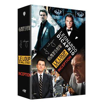 Coffret Léonardo DiCaprio  DVD