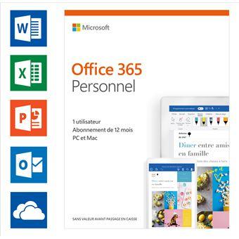 Microsoft Office 365 Personnel FR (1 utilisateur)
