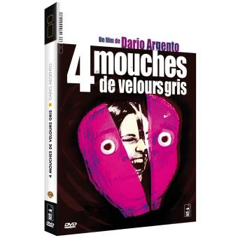 4 mouches de velours gris DVD