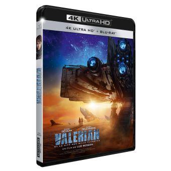 Valérian et LaurelineValérian et la Cité des Mille Planètes Blu-ray 4K