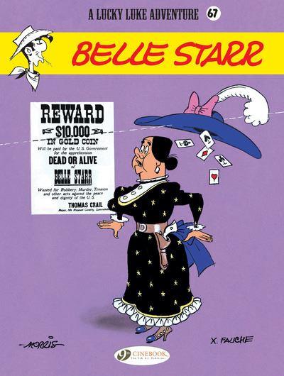 Lucky Luke - volume 67 Belle starr