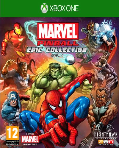 Marvel Pinball Epic Collection Vol. 1 Xbox One