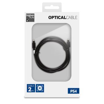 Cable pour PS4 BigBen Cable optique pour PS4