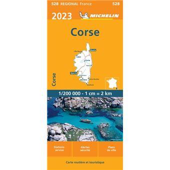 Carte Michelin Corse.Carte Corse Michelin 2019