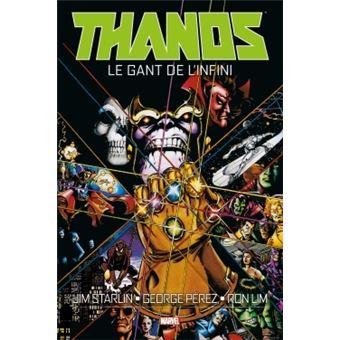 ThanosLe gant de l'infini Exclusivité Fnac + Ex-libris coffret