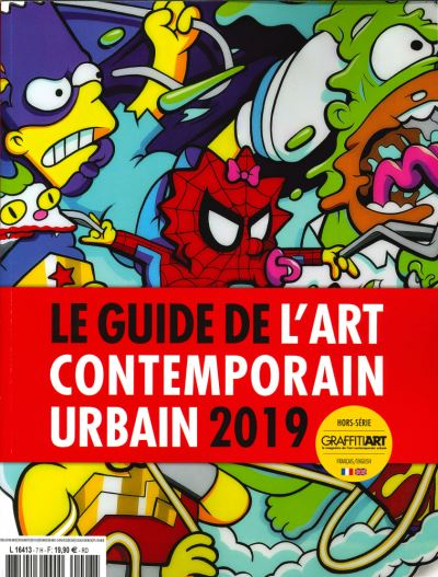 Guide de l'art contemporain urbain 2019