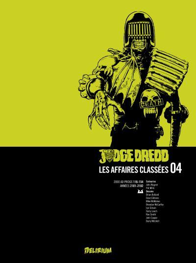Judge Dredd, Affaires Classées 4