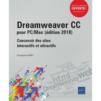 Dreamweaver CC pour PC/Mac
