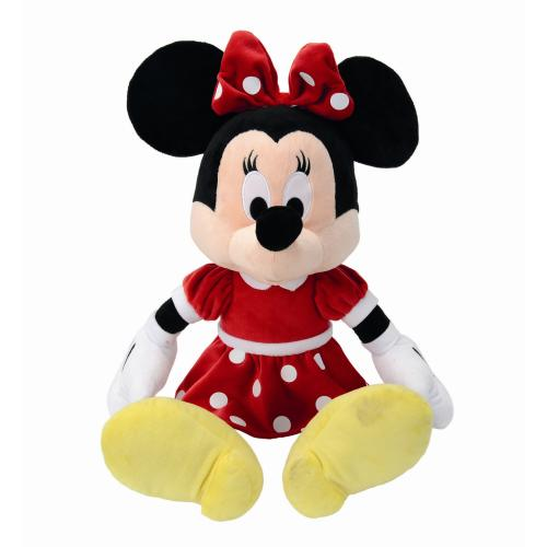 Peluche Minnie robe rouge Disney 50 cm