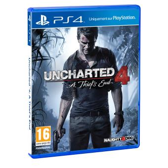 uncharted 4 a thief 39 s end ps4 sur playstation 4 jeux vid o fnac. Black Bedroom Furniture Sets. Home Design Ideas