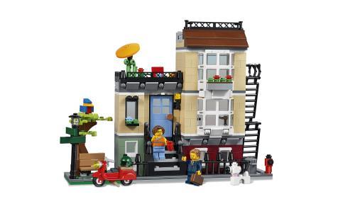 Lego Creator 3 En 1 31065 La Maison De Ville Lego Achat Prix Fnac