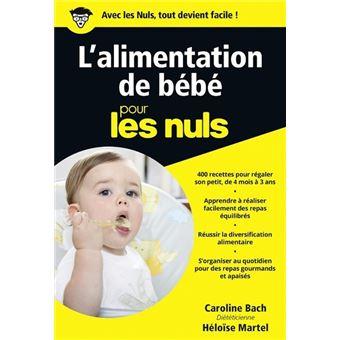 Pour les nulsL'alimentation de bébé Poche Pour les Nuls