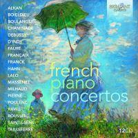 FRENCH PIANO CONCERTOS/12CD