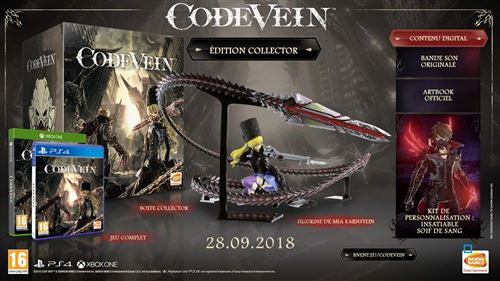 Code Vein Edition Collector Xbox One