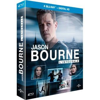 Jason Bourne L'intégrale Coffret  Blu-ray