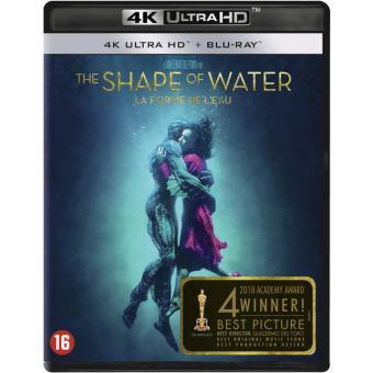 Shape of water-BIL-BLURAY 4K
