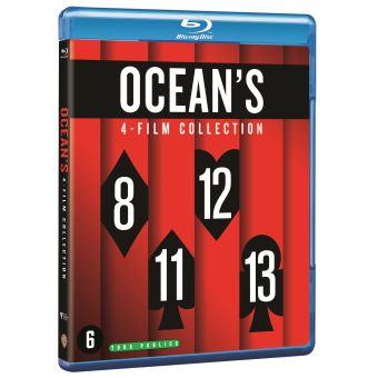 Ocean'SCoffret Ocean's 4 Films Blu-ray