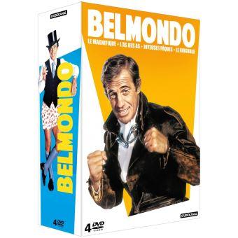 Coffret Jean-Paul Belmondo 4 Films DVD
