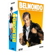 Coffret Jean-Paul Belmondo 4 Films DVD